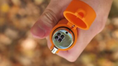 New! SOL Waterproof - FIRE LITE - Fuel-Free Plasma Survival Lighter / REVIEW
