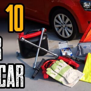 TOP 10 BEST CAR EMERGENCY GEAR FOR SURVIVAL KIT
