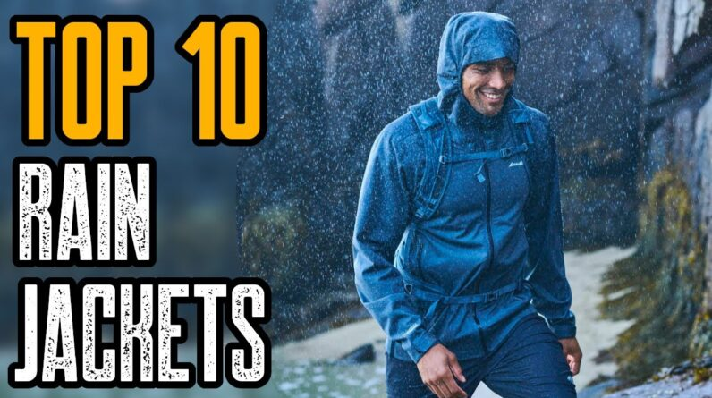 TOP 10 BEST WATERPROOF JACKETS FOR MEN 2021
