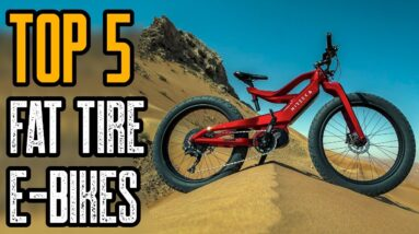 Top 5 Fat Tire Electric Bikes 2021 | Best Fat Tire e-Bikes 2021