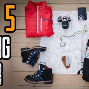 TOP 5 FAVORITE HIKING GEAR & GADGETS 2021