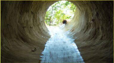 Survival Skill Build Secret Underground And WaterSlide Swimming Pools Underground
