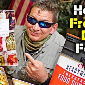 10 Reasons Every PREPPER Needs Freeze Dried Food - PLUS - Best Home Freeze Dryer: Harvest Right?
