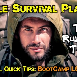 The Rule Of Three: How To Use It to Make A Simple Survival Plan