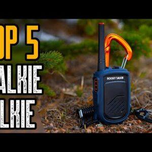 TOP 5 Best Walkie Talkies 2021 | Best Two Way Radios 2021!