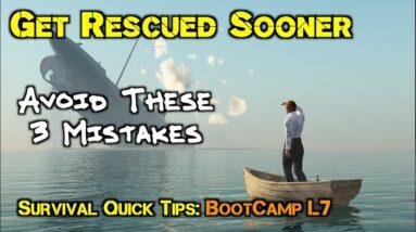 4 Life-Saving Ways to Get Rescued Sooner and Not Die