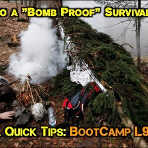 """7 Keys to a """"Bomb Proof"""" Survival Shelter"""