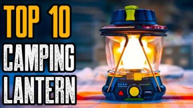 Top 10 Best Camping Lanterns On Amazon 2021