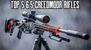 Top 5 Best 6.5 Creedmoor Bolt Action Rifles 2021