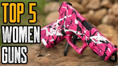 Top 5 Best 9mm Pistols For Women (Concealed Carry Handguns)