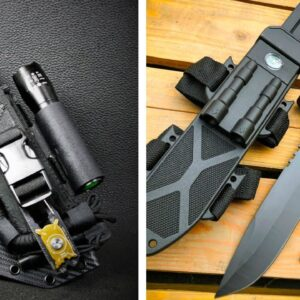 TOP 5 ULTIMATE SURVIVAL KNIVES ON AMAZON 2021
