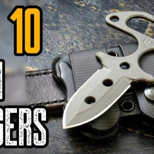 TOP 10 BEST PUSH DAGGER KNIVES FOR SELF DEFENSE 2021