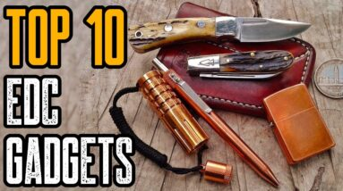 Top 10 New EDC Gear & Everyday Carry Gadgets for MEN 2021