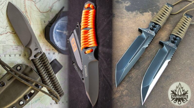 TOP 10 Next Level Paracord Knives for Survival and EDC!