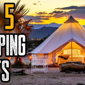 Top 5 Best Camping Tents On Amazon 2021