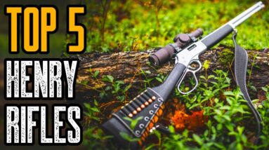 Top 5 Best Henry Lever Action Rifles For Home Defense and Hunting