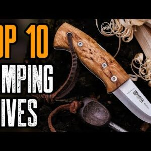 TOP 10 BEST CAMPING KNIVES ON AMAZON 2021