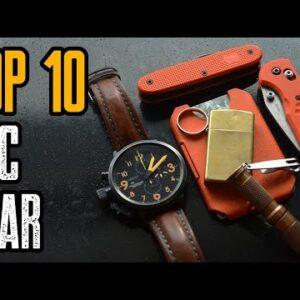 TOP 10 BEST EDC GEAR & GADGETS ON AMAZON