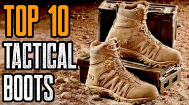 TOP 10 BEST TACTICAL BOOTS THAT LAST FOREVER
