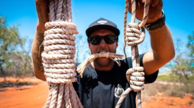 8 KNOTS THAT WILL SAVE YOUR LIFE. How to tie the best survival/camping/boating knots. EP 76
