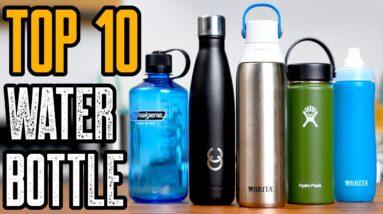TOP 10 BEST WATER BOTTLES OF 2021