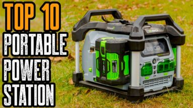 Top 5 Best Portable Power Stations for Camping & Power Tools