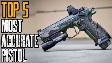 TOP 5 MOST ACCURATE 9MM PISTOLS IN THE WORLD