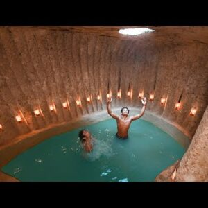 We Build The Most Paradise Underground Swimming Pools