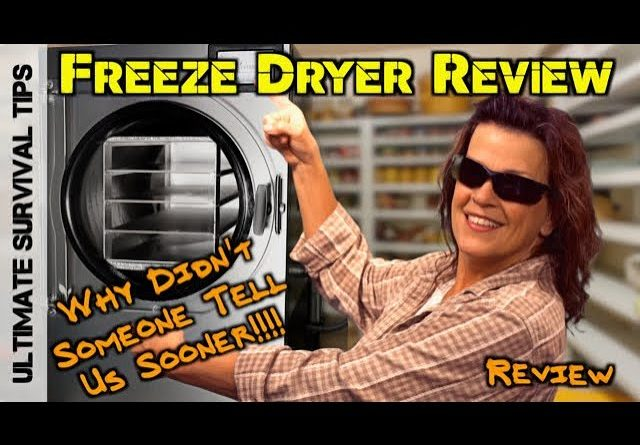 AMAZING! Harvest Right Freeze Dryer REVIEW / Freeze Drying Blueberries - YES!!!