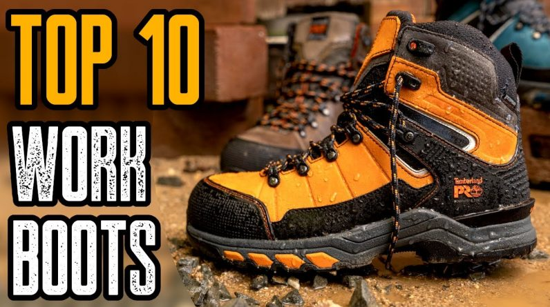 Top 10 Most Comfortable Work Boots for Men 2021